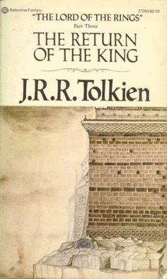 The Return of the King. My favorite book of the trilogy.