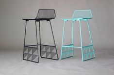 Low-Backed Counter stool by Bend