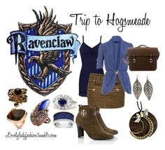 Ravenclaw's Trip to Hogsmeade by sad-samantha on Polyvore featuring Dorothy Perkins, BKE, Étoile Isabel Marant, Tory Burch, AX Paris, Vernissage, Folli Follie and Mimco