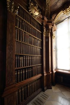 Library Alcove, Melk Abbey, Austria    photo via cool