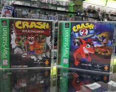Let's smash some boxes! #CrashBandicoot #PS1 #Retro