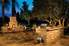 Luxury Outdoor Kitchens | Eldorado Stone_CoastalRanch_AFTER