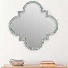 Safavieh Josette Quatrefoil Antique Zinc Mirror