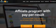 Adwad Review : The webmasters must give it a try to this CPA affiliate network. Minimum payout - 500 rubles or $10. Join today and start making money.