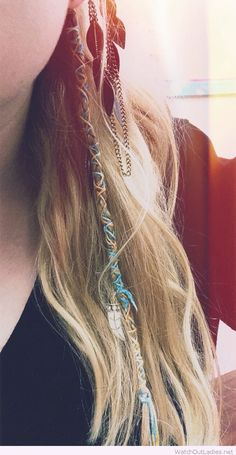 Hair wraps for a perfect boho hair - http://watchoutladies.net/hair-wraps-for-a-perfect-boho-hair/