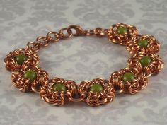 Korean Jade Byzantine Romanov Solid Copper by LehcarGallery, $60.00