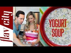 Yogurt & Cucumber Soup - Easy Bulgarian Recipe - YouTube