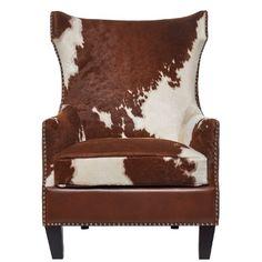 Die Kunst des Stylings und Einrichtens beherrscht perfekt, wer hier und da einen gekonnten Stilbruch riskiert. Zum Beispiel mit dem exzentrischen Cowboy-Sessel, der z. B. im cleanen Industrieloft oder im alpinen Landhausambiente als Designobjekt die Blicke auf sich zieht. Wer weitere Blicke riskiert, wird übrigens beste Materialien entdecken: Beim Cowboy-Sessel ist die Sitzfläche mit echtem Kuhfell, das Drumherum mit feinem Leder bezogen. Jeder Sessel ist ein echtes Unikat. Passendes…