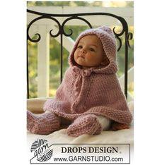 Poncho para bebés de lana. Muy abrigado y cómodo para tu pequeño! ♥ Si también…