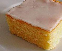 Rezept Variation von Zitronenkuchen fürs Blech von Zauberperle - Rezept der Kategorie Backen süß