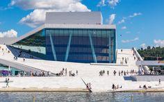 Die Oper in Oslo / Shutterstock.com Oslo, Marina Bay Sands, Building, Travel, Romantic Ideas, Norway, Viajes, Buildings, Destinations