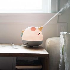 Meet Elodie, the Cute Unicorn Humidifier Adding a Touch of Magic to the Air - Perfect for any nursery or kids room, this humidifier is even fit for unicorn-obsessed adults. #parents #tips