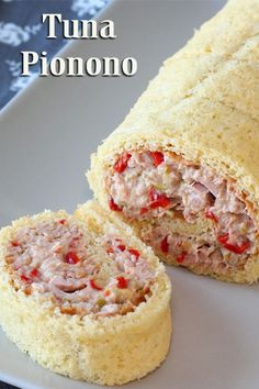 Argentine tuna roll cake or tuna pionono it's a perfect celebration appetizer. You can adapt the filling of this easy appetizer recipe to your likings.