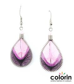 Thread earrings