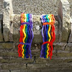 Some Wear Over The Rainbow - Pattern by Woolly Thoughts