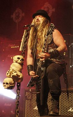 Zakk Wylde performs with Black Label Society at the Congress Theater on November 6 2010 in Chicago Illinois Music Love, My Music, Black Label Society, Zakk Wylde, Ozzy Osbourne, Heavy Metal Bands, Alternative Music, Los Angeles California, Chicago Illinois