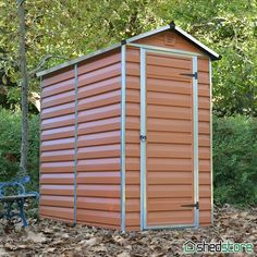 Palram Amber Skylight Shed Plastic Shed