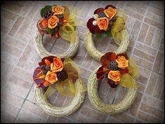 mindenszenteki koszorú - Google keresés Floral Wreath, Fall, Minden, Home Decor, Google, Corona, Autumn, Floral Crown, Decoration Home
