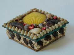 Victorian Seashell Box