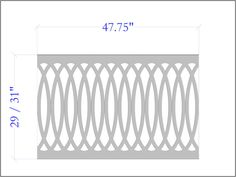 The Cathedral Scroll Panel - The Porch CompanyThe Porch Company Exterior Stair Railing, Pvc Railing, Front Porch Railings, Screened In Porch, Railing Ideas, House Painting, Painting On Wood, Veranda Railing, Character Flaws