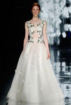 Yolan Cris Floral Wedding Dress