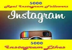 Provide 7000 Instagram Follower or 6000 Instagram ... for $5
