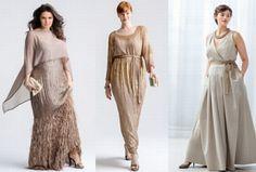 Платья для полных. Модели вечерних платьев 2016 для полных женщин и девушек - фото