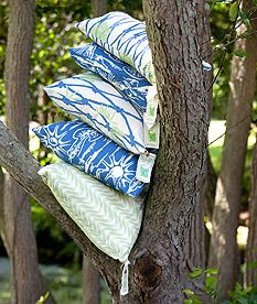 Printed hemp, soft, incredibly durable, sustainable. 'planktivore', 'paradise' & 'ripple effect'