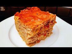 Húsos Rakott tészta / Szoky konyhája / - YouTube Hungarian Recipes, Cheddar, Lasagna, Ethnic Recipes, Food, Drink, Youtube, Food Food, Lasagne
