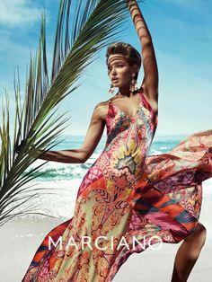 "Lana's wedding? ""formal beach attire"" Clara Alonso, Guess By Marciano, Foto Fashion, Fashion Beauty, Fashion Models, Spring Summer Fashion, Spring 2014, Summer 2014, Poses"