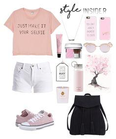 """""""Contest:Style Insider"""" by justinasav on Polyvore featuring Monki, Barbour International, Violeta by Mango, Converse, Rituals, Kate Spade, Christian Dior, Le Specs, Casetify and contestentry"""