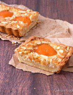 Almond Apricot Tart | Culinary Cool