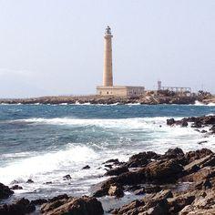 #Scirocco - #Faro di Punta Sottile #Favignana