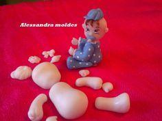 molde de silicone pra fazer lembrançinha de maternidade