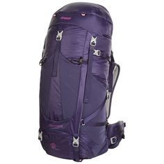 Bergans of Norway Glittertind 55L Backpack in Blackberry/Magenta Pink