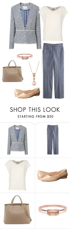 """""""Untitled #519"""" by efghi ❤ liked on Polyvore featuring L.K.Bennett, J.Crew, Alberto Biani, Nine West, Valextra, Bing Bang and LE VIAN"""