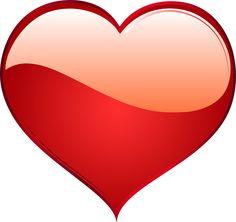 Corazón, El Amor, Pasión, Rojo, Romance, Brillante