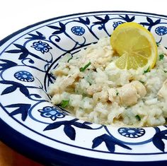 One Perfect Bite: Frugal Foodie Friday - Risotto with Chicken, Lemon and Basil