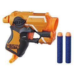 Amazon.com: Nerf MicroShots N-Strike Elite Firestrike: Toys & Games Nerf gun derringer foam dart hold out pistol pocket gun
