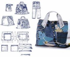recycled-jeans-bags-patterns6.jpg (610×493)