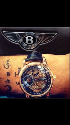 #watches #bentley #tattoo