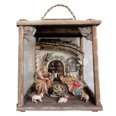 These beautiful Christmas Nativity Lanterns are hand crafted from high quality massive wood. Carefully handpainted with oil paints by our skilled craftsmen. Some designs are hand gilded with real gold. They will brighten up your home during this magical time of the year.  Premium quality Collectible Nativity Sets.  Available in Color or Natur Version in various sizes. #ChristmasLantern #NativityLantern #christmasnativity #woodennativity #nativityscene #nativitysets #nativityfigurines… Nativity Sets, Christmas Nativity Scene, Catholic Gifts, Religious Gifts, Christmas Lanterns, Beautiful Christmas, Wood Art, Craftsman, Hand Painted