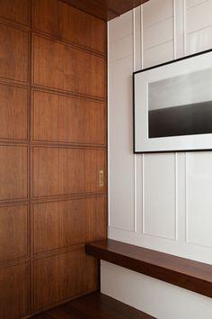 ~ Living a Beautiful Life ~ Michael Haverland Architect Interior Walls, Interior And Exterior, Architecture Details, Interior Architecture, Wall Design, House Design, Panel Moulding, Interior Decorating, Interior Design