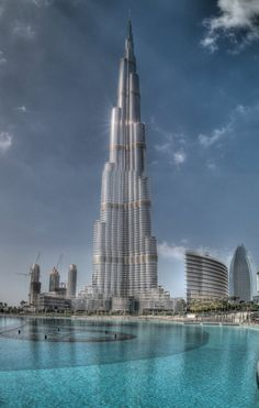 Burj Kalifa – Dubai, Today's The Tallest Building In The World