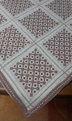 Cross Stitch Borders, Cross Stitch Designs, Cross Stitching, Cross Stitch Patterns, Crochet Patterns, Beaded Embroidery, Cross Stitch Embroidery, Embroidery Designs, Bargello