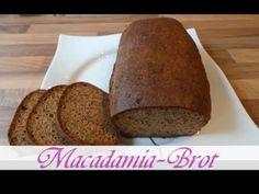 Jeannette's Low Carb Rezepte: Macadamia Brot