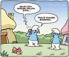 Karikaturiks | Gülümse biraz.!: Yanlış Numara :))