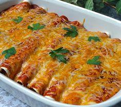 ValSoCal: Cheesy Chicken Enchiladas