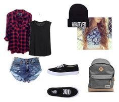 """""""Luke Meet"""" by cgalgano ❤ liked on Polyvore featuring Rails, MANGO, Vans and A.P.C."""