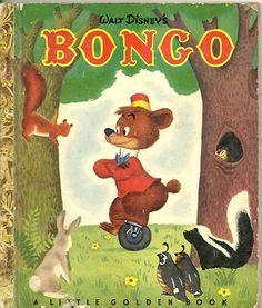 1940's Children's Little Golden Book Bongo